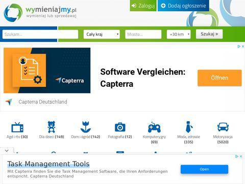 Portal z wymianami online