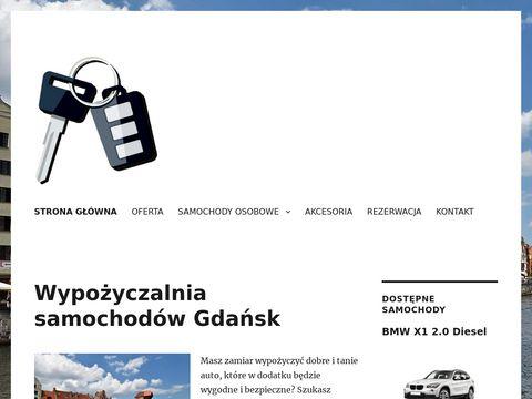 Wynajem aut Gdańsk tanio