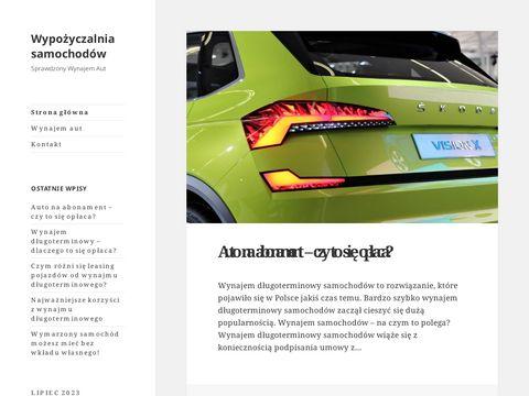 Wypo偶yczalnia aut Warszawa