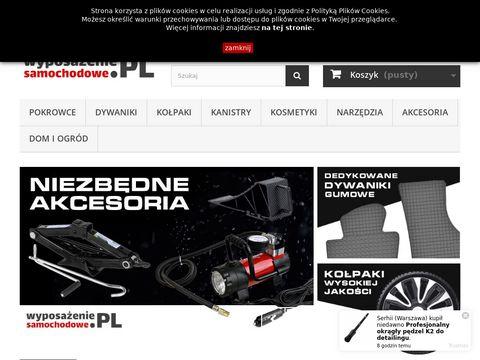 Akcesoria samochodowe sklep - wyposazeniesamochodowe.pl
