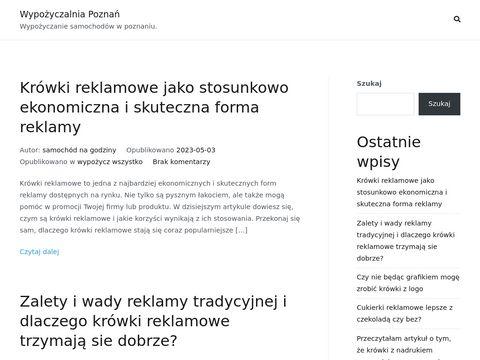 Wynajem samochodów Poznań - Prestige