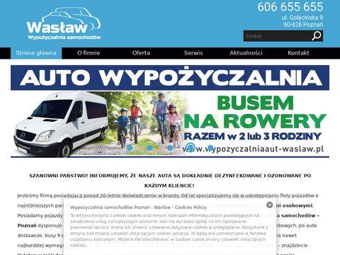 Was艂aw - wypo偶yczalnia samochod贸w dostawczych Pozna艅