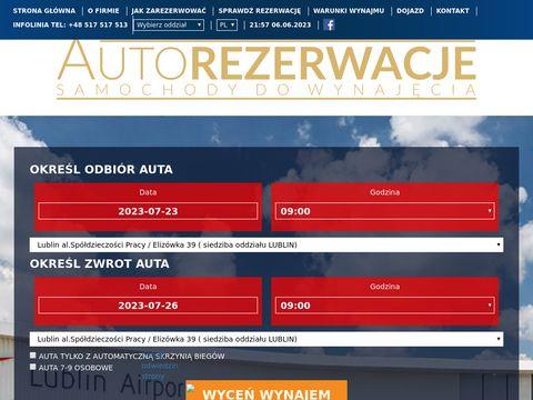 Wynajem samochod贸w Lublin - Wypozyczalniasamochodow.zlublina.pl/