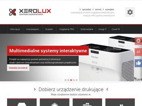 Kserokopiarki - xerolux.pl