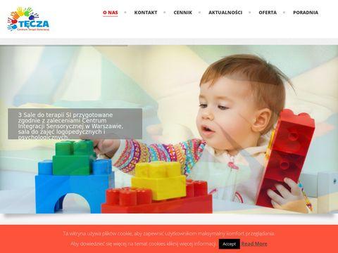Centrum Terapii Dzieci臋cej T臉CZA integracja sensoryczna, terapia r臋ki, terapia FAS