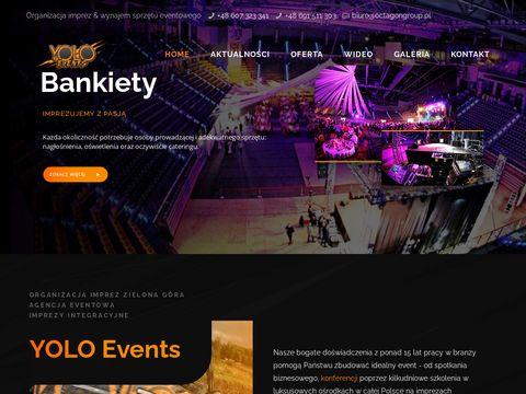 Organizacja Imprez Zielona G贸ra - YOLO Events