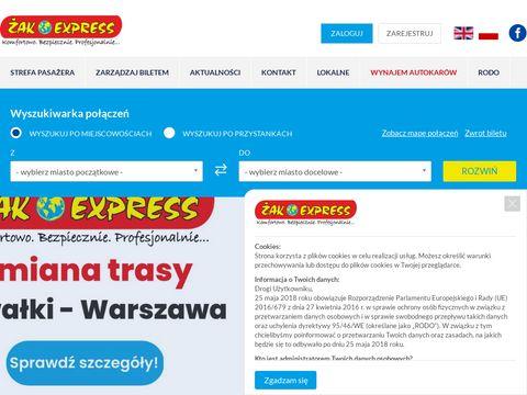 Połączenie �omża - Warszawa