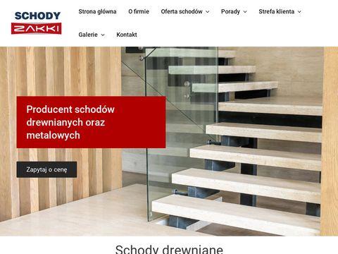 ZAKKI producent schodów drewnianych gdańsk