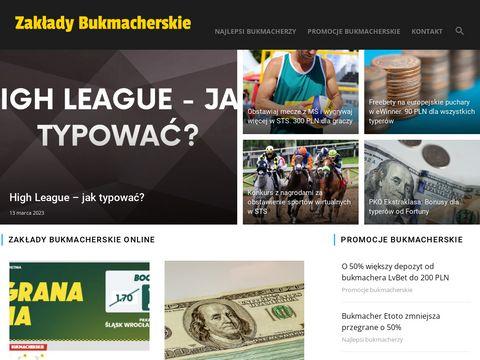 Polski blog internetowy o bukmacherach