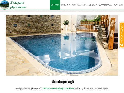 Ekskluzywne apartamenty z basenem, saunÄ… i jacuzzi w Zakopanem!