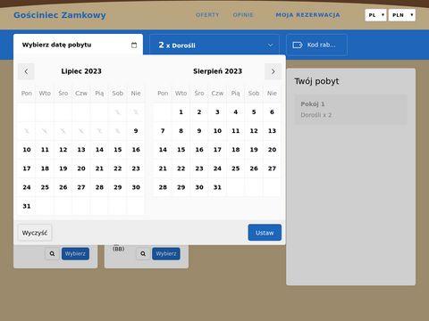Www.zamkowy.pl domowa atmosfera