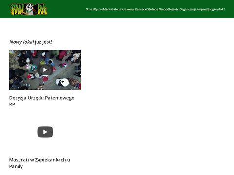 Zapiekankiupandy.pl - Najlepsze zapiekanki