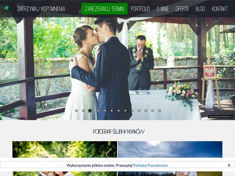 Zatrzymaj Wspomnienia - fotografia ślubna Kraków
