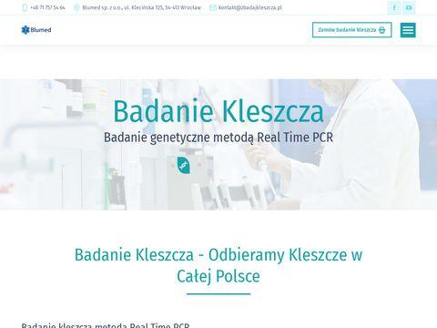 Borelioza badania - zbadajkleszcza.pl