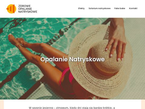 Solarium natryskowe - zdrowe-opalanie-natryskowe.pl