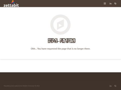 Zettabit Innowacje - Projekty, produkty innowacyjne