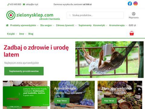 Sklep ekologiczny Krak贸w, kosmetyki wega艅skie, produkty ajurwedyjskie 鈥� zielonysklep.com