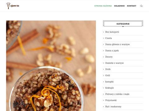 Zjem to blog kulinarny, przepisy kulinarne na każdy dzień