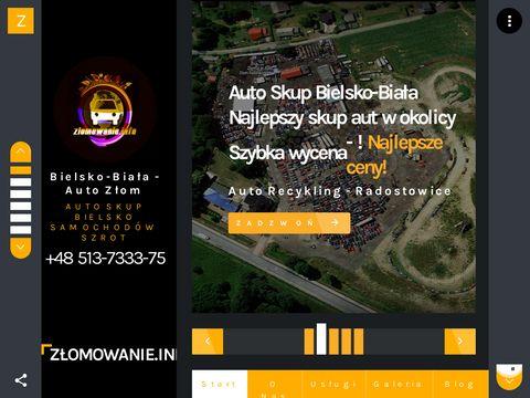 Złom Skup Aut Bielsko-Biała - zlomowanie.info