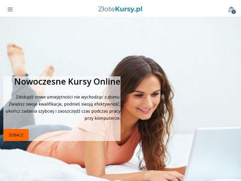 ZÅ'ote Kursy - Platforma e-learningowa