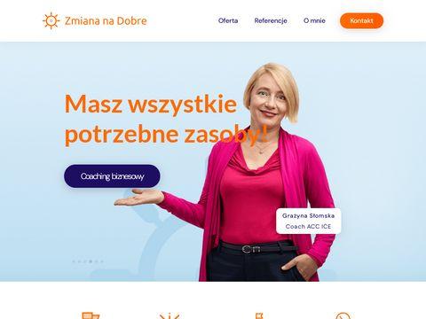 Coaching dla Ciebie, dla biznesu: ZmianaNaDobre.pl