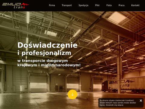Firmy transportowe Krak贸w - zmudatrans.com.pl