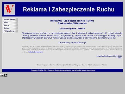 Raklama i Zabezpieczenie Ruchu - Znaki Drogowe Gda艅sk