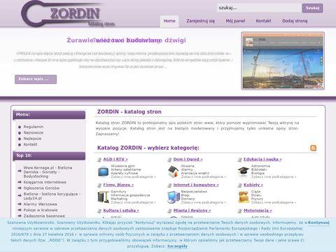Zordin - katalog stron internetowych