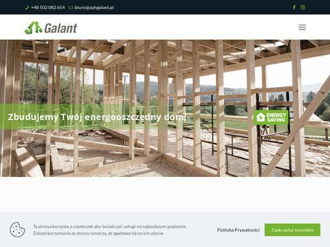 GALANT - domy z drewna Kaliska