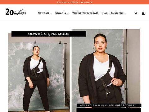 Moda plus size - 20inlove sklep internetowy