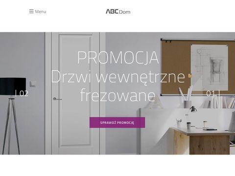 ABC Dom - Drzwi wewnętrzne | Drzwi zewnętrzne | Podłogi | Panele |