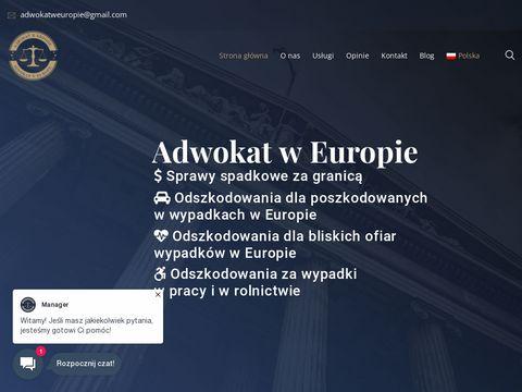 Adwokat w Europie - Pomoc prawna za granicÄ…