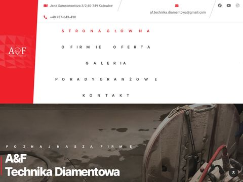 Ci臋cie betonu - af-technikadiamentowa.pl