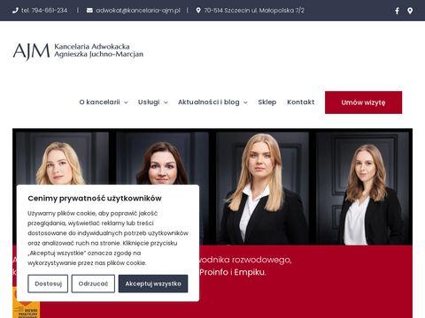 Kancelaria Adwokacka Szczecin - Agnieszka Juchno-Marcjan
