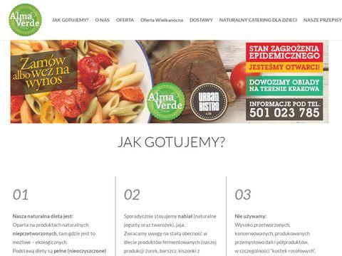 AlmaVerde - Catering ekologiczny