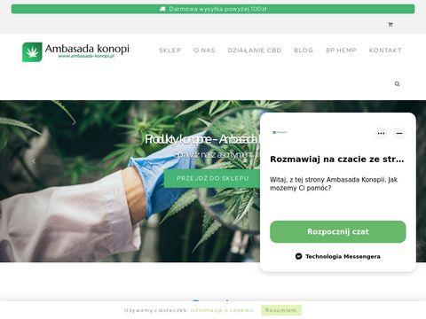 Ma艣膰 konopna - ambasada-konopi.pl