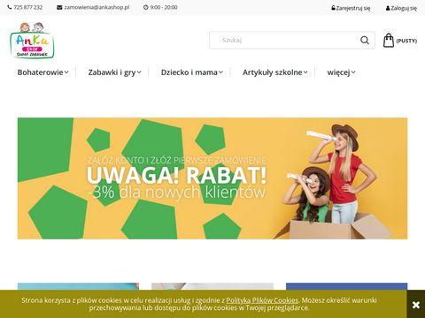Internetowy sklep z zabawkami