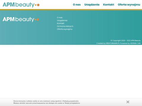 Wynajem urządzeń kosmetycznych | APM Beauty