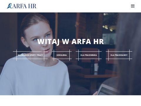 ARFA HR - Agencja rekrutacyjna
