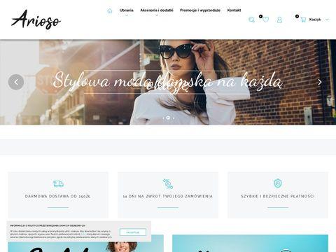 Odzież damska - arioso.pl