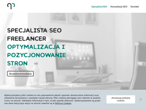 Specjalista SEO Freelancer Pozycjonowanie Stron Internetowych