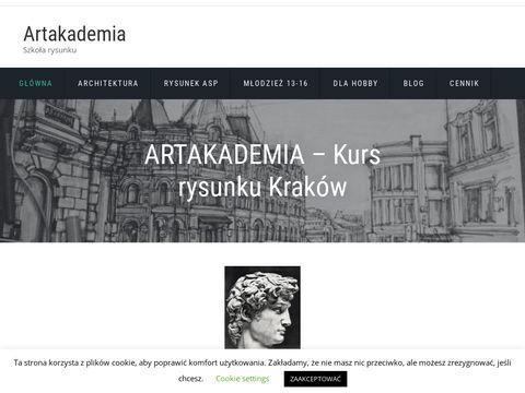 Szko艂a rysunku - Artakademia Krak贸w