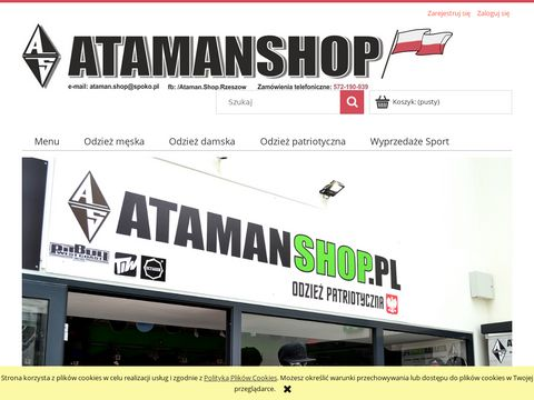 Odzież patriotyczna - Atamanshop