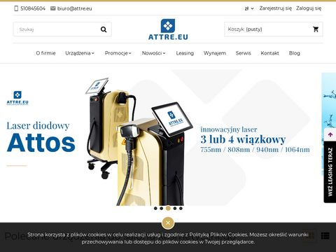 Urz膮dzenia kosmetyczne Hi-Tech - attre.eu