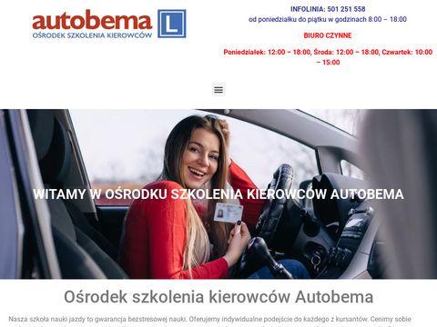 Nauka jazdy w Warszawie - Autobema.pl