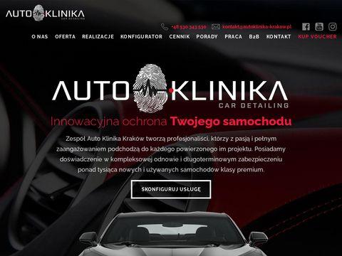 Car detailing, Auto Spa - Auto Klinika Krak贸w