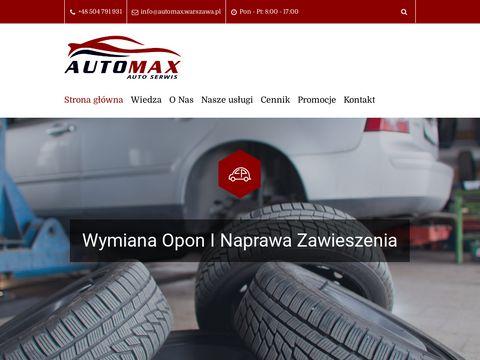Warsztat samochodowy - automax.warszawa.pl