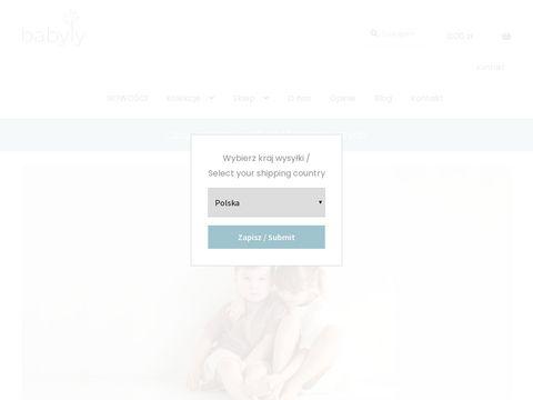 Handmade dla dzieci | Tekstylia dla dzieci | BabyLy.pl
