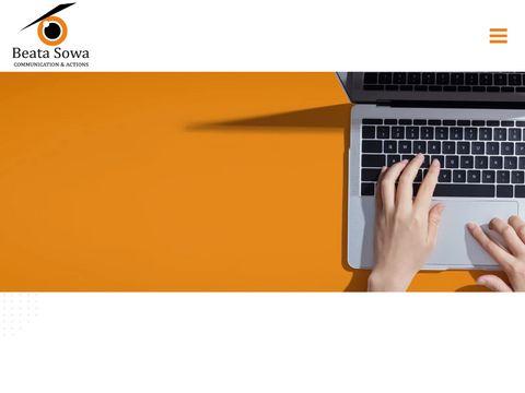 Specjalista PR Beata Sowa