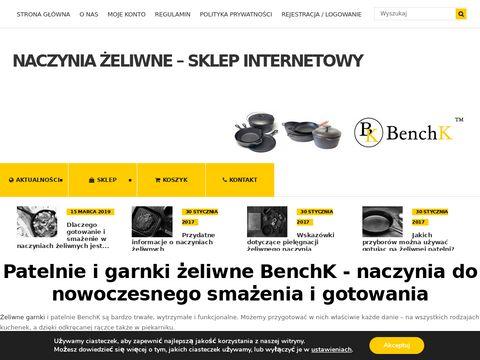 Garnki i patelnie 偶eliwne BenchK